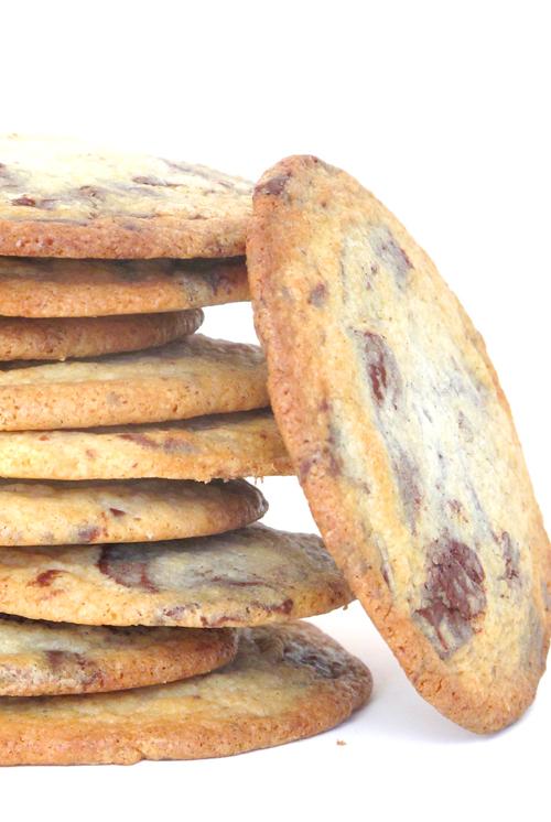 Giant Fleur de Sel Chocolate Chunk Cookies | Salt and Serenity