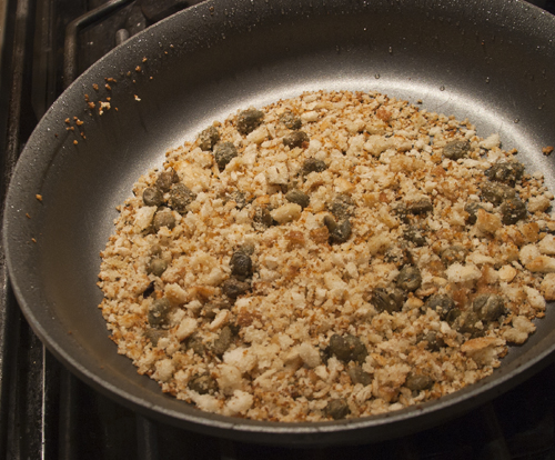 ... With Crispy Breadcrumbs And Golden Raisins Recipes — Dishmaps