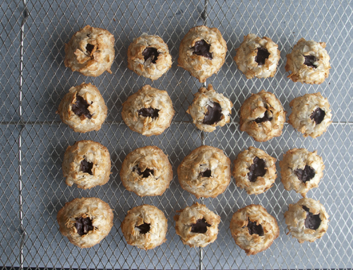 Click here to print recipe for New Classic Coconut Macaroons .