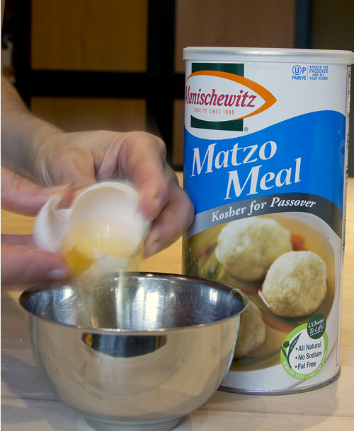 egg and matzoh meal