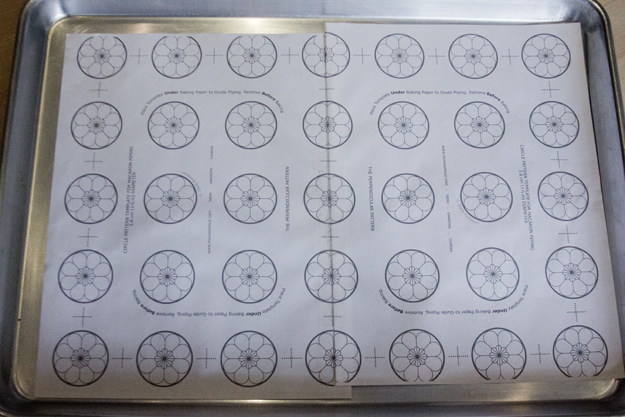 macaron baking sheet template macarons salt and serenity