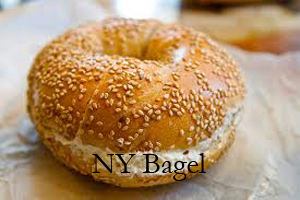nyc bagel labelled