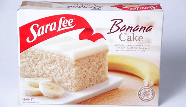 sara Lee banana Cake