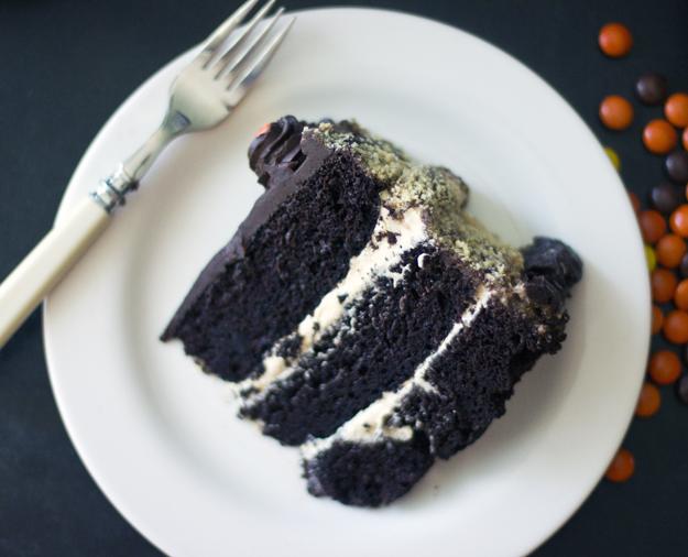 slice on plate