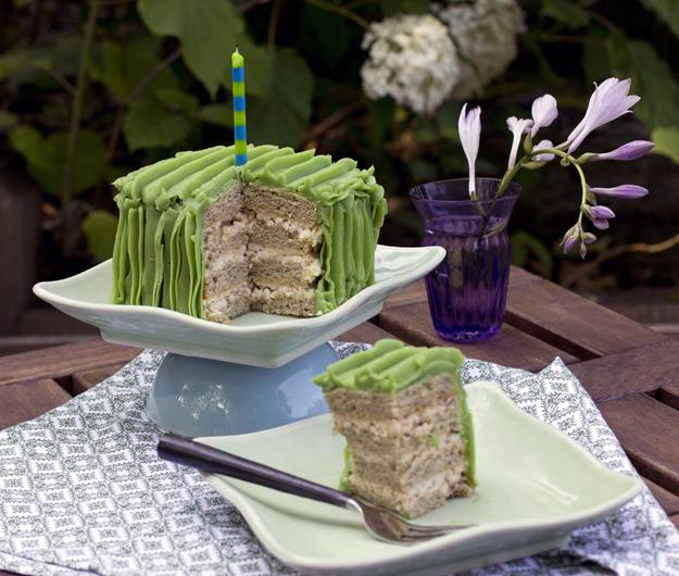 cake and slice