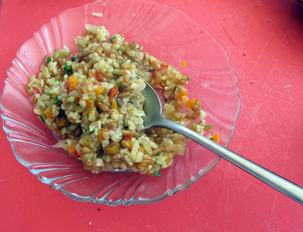 Grain risotto