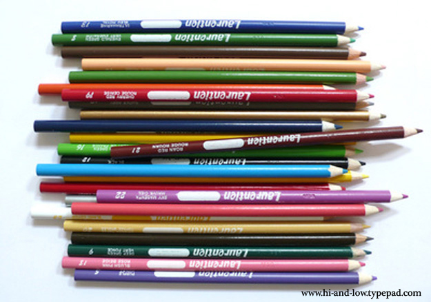 Pencil crayons 2