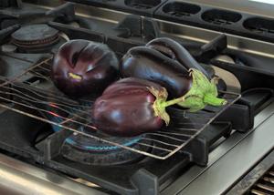 roasting eggplant 1