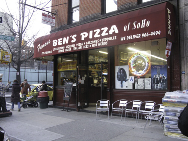 Ben's pizza sign 1a