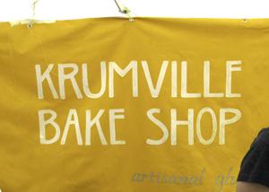 Krumville sign
