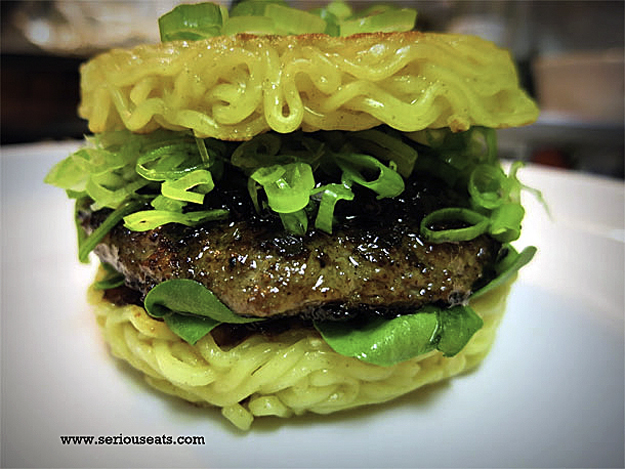 serious eats ramen-burger