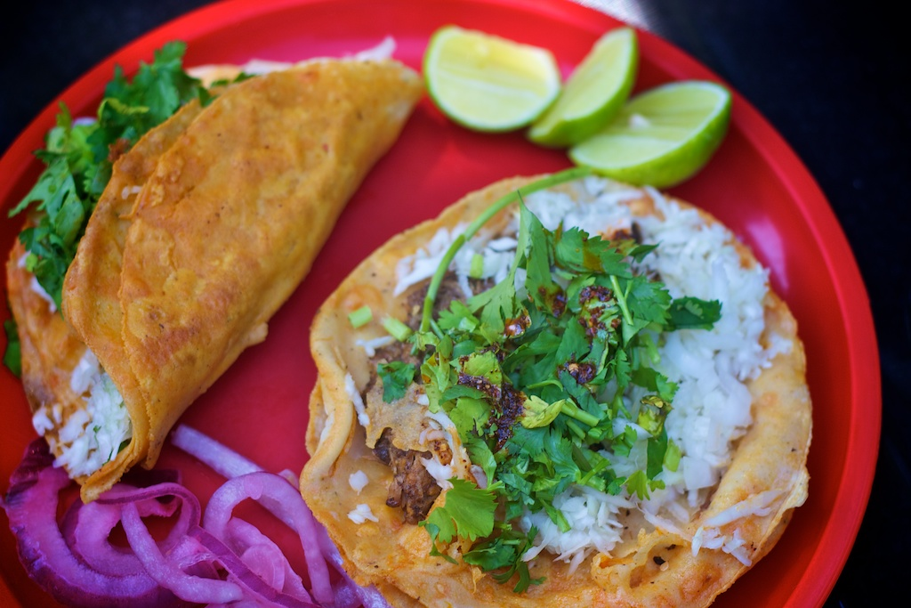 taco robles platter
