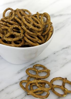 whole pretzels