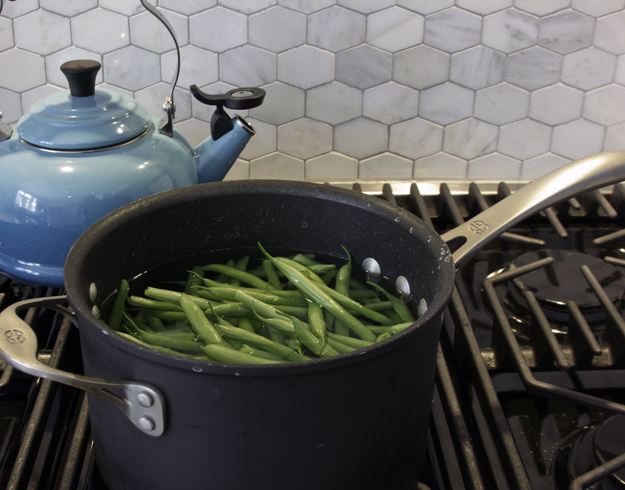 boiling beans