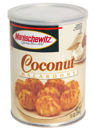 coconut macaroons in can