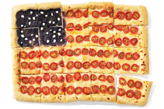 american flag pizza 2