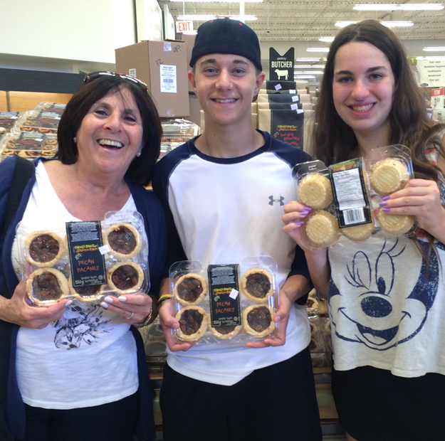 Susie Aaron Kailey with buttertarts