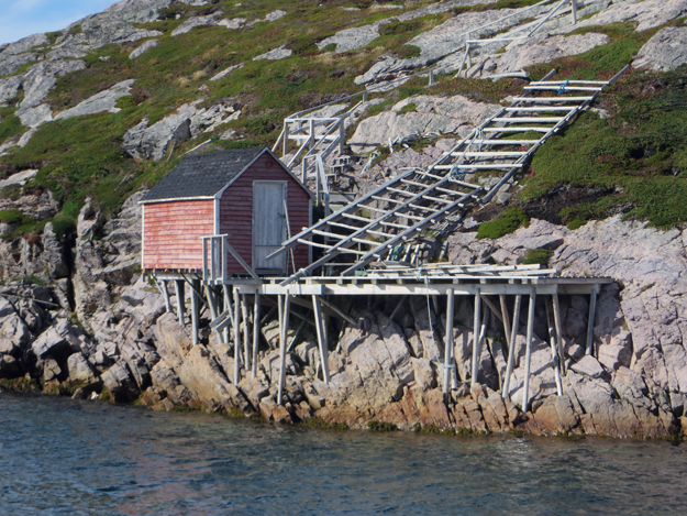 dock at little fogo island