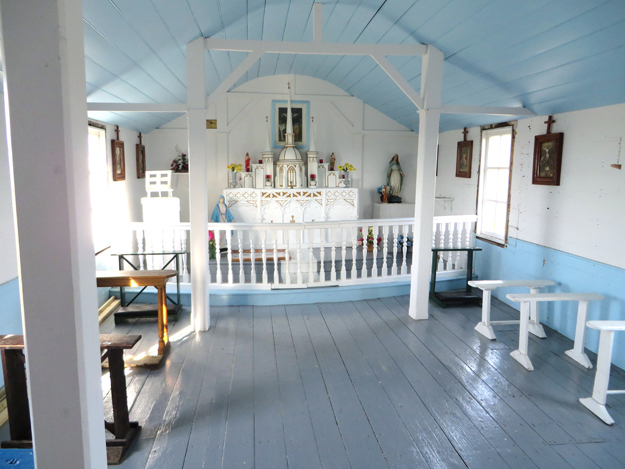 little fogo island church