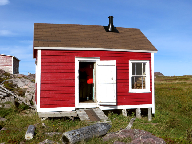 summer cottage on little fogo