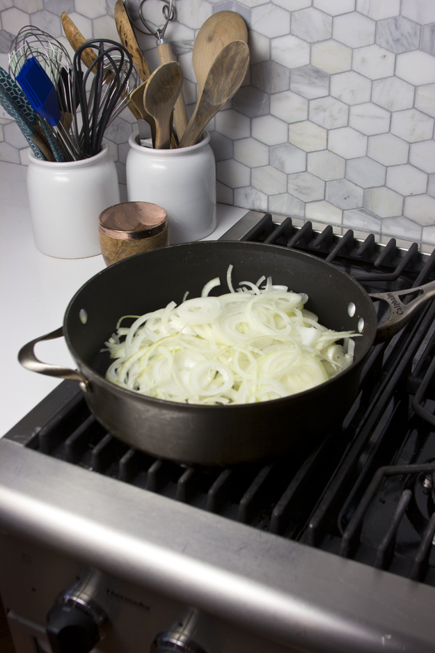 onions in pan 1