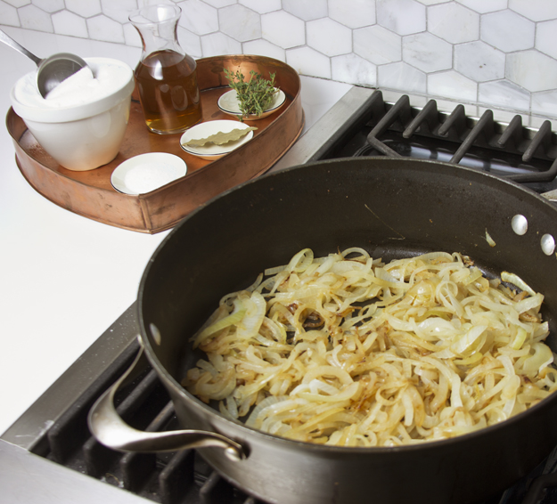 onions in pan 2