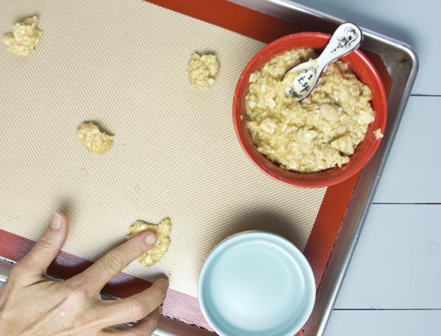flattening cookies