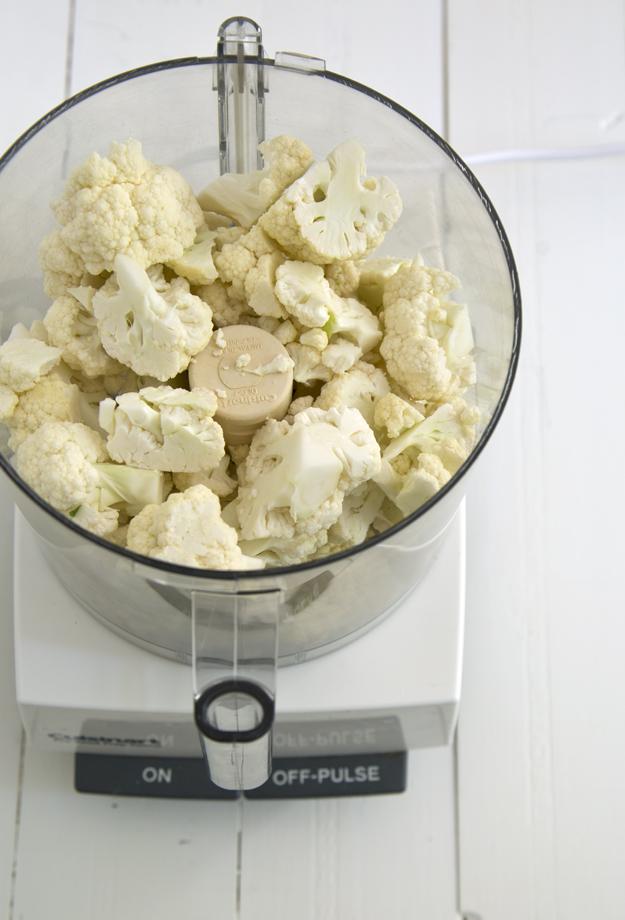 Cauliflower before