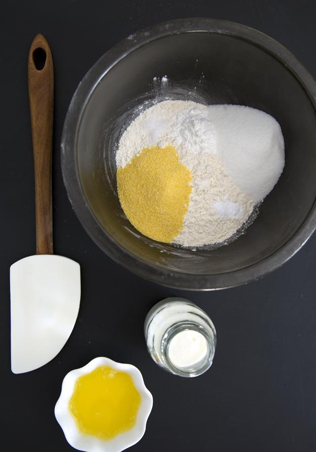 Ready to make cobbler dough