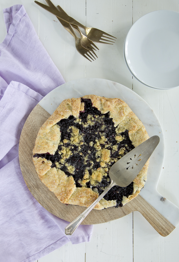 Blueberry Corn Galette 2