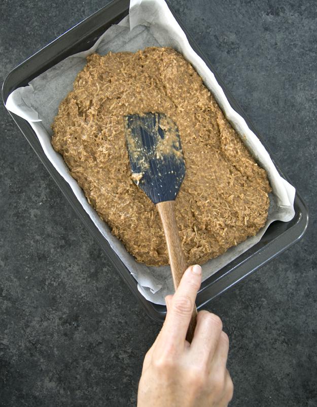spreading in pan