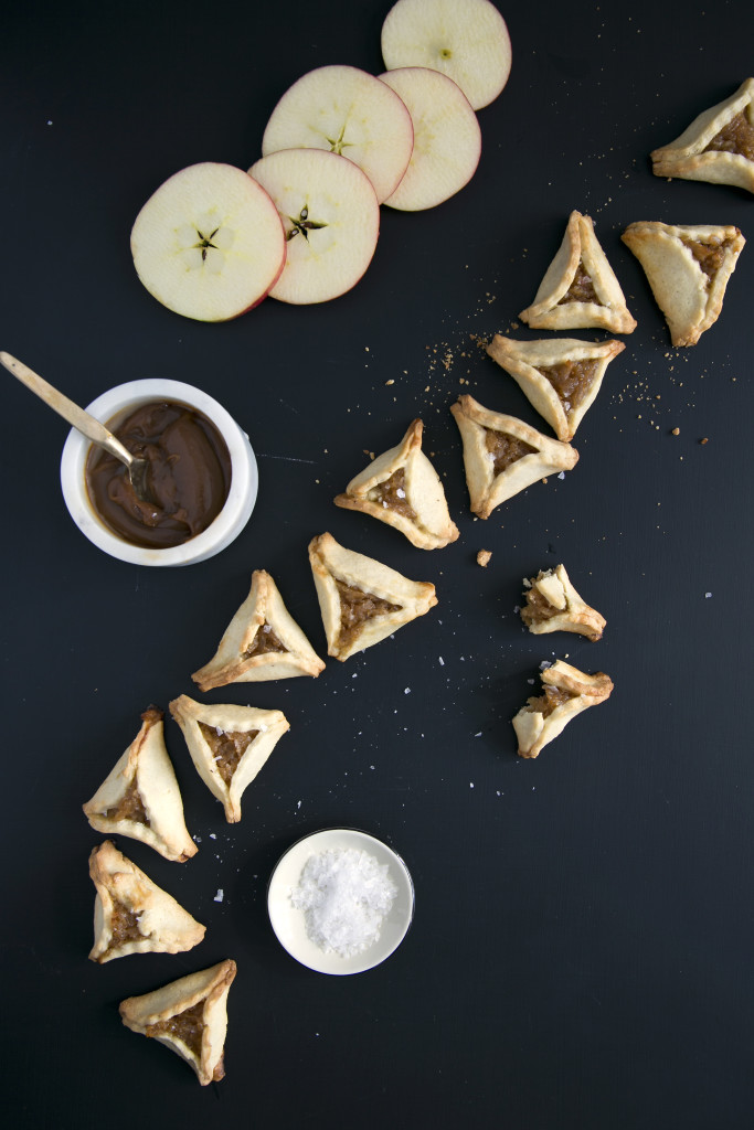Salted Caramel Apple hamentashen 1F