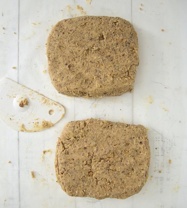 Divide dough into 2