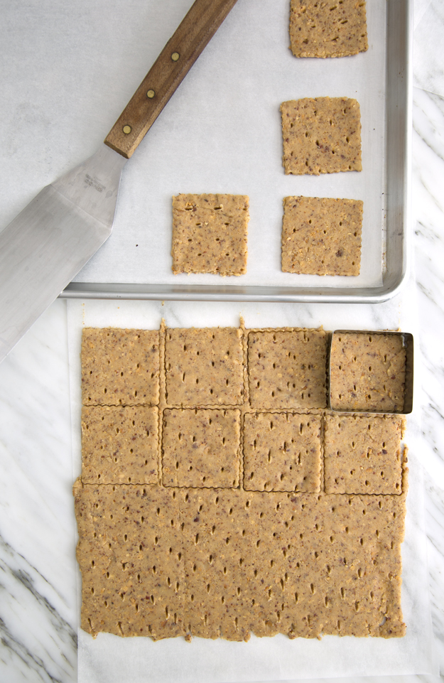 cutting cookies into squares