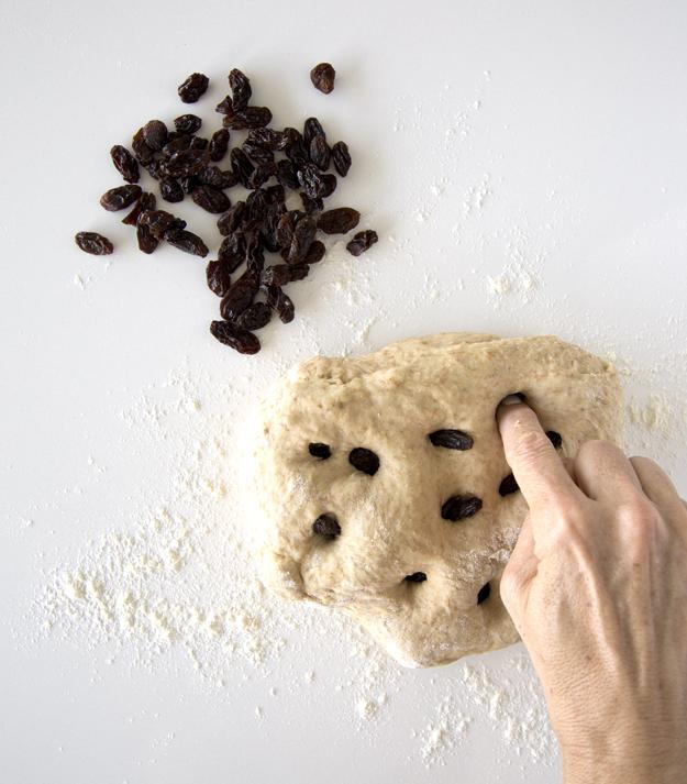 poke in the raisins
