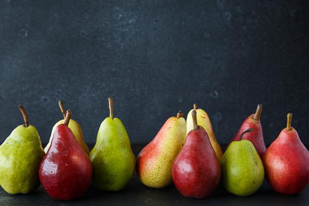 horizontal pears