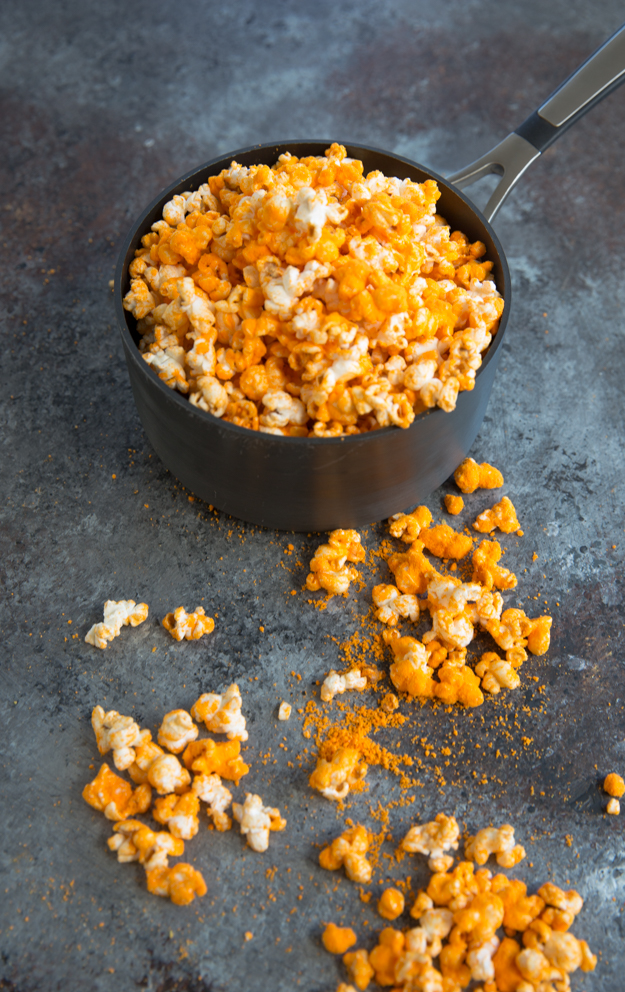 popcorn in pot 2